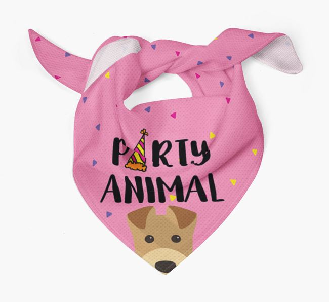 'Party Animal' Airedale Bandana