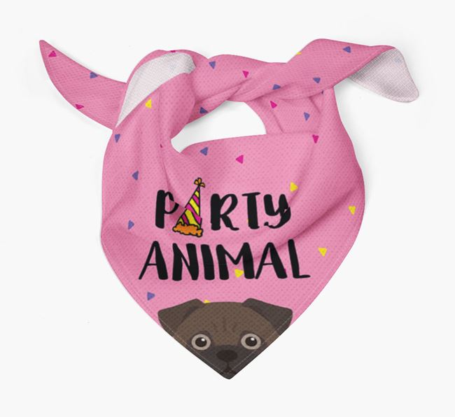 'Party Animal' Jug Bandana
