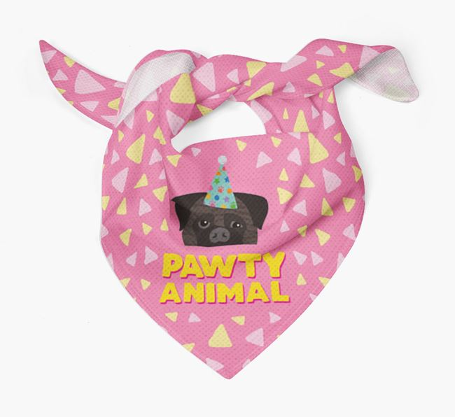 'Pawty Animal' - Personalised Bullmastiff Bandana