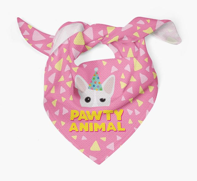 'Pawty Animal' - Personalised Cojack Bandana