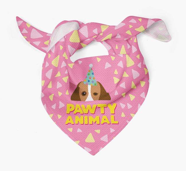 'Pawty Animal' - Personalised Harrier Bandana