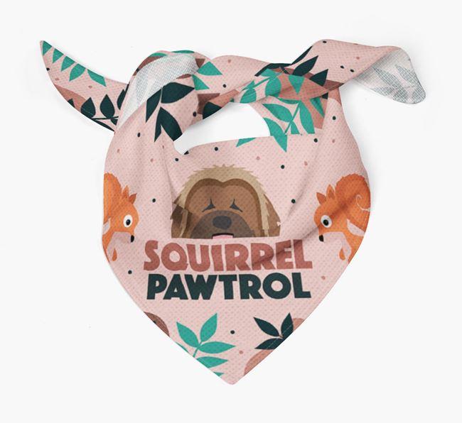 'Squirrel Pawtrol' - Personalised Briard Bandana