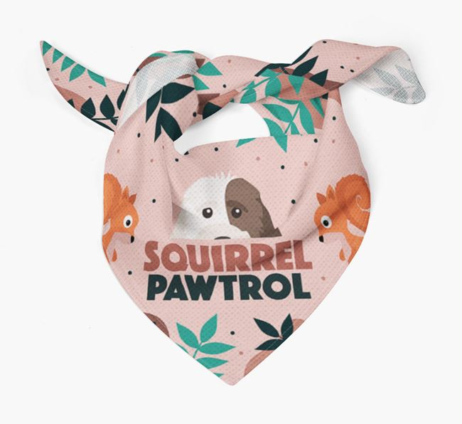 'Squirrel Pawtrol' - Personalized Cockapoo Bandana