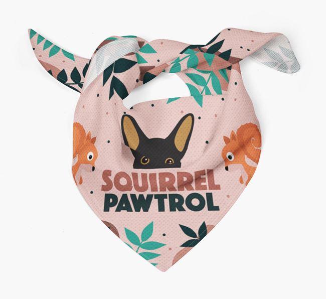'Squirrel Pawtrol' - Personalised French Bull Jack Bandana