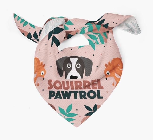 'Squirrel Pawtrol' - Personalized Great Dane Bandana