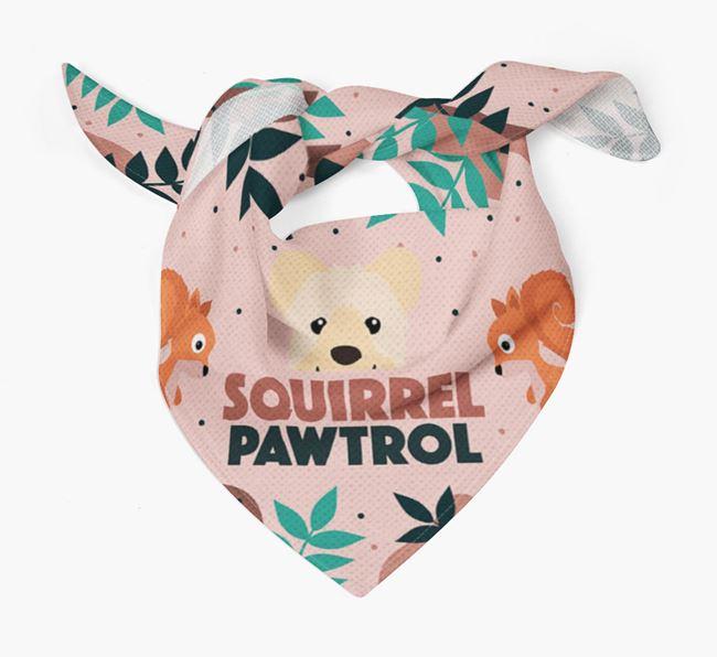'Squirrel Pawtrol' - Personalised Hungarian Pumi Bandana