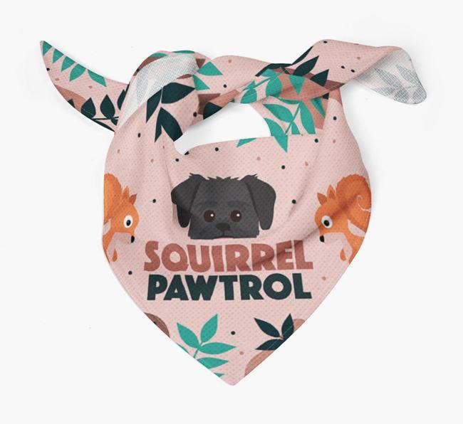 'Squirrel Pawtrol' - Personalized Lachon Bandana