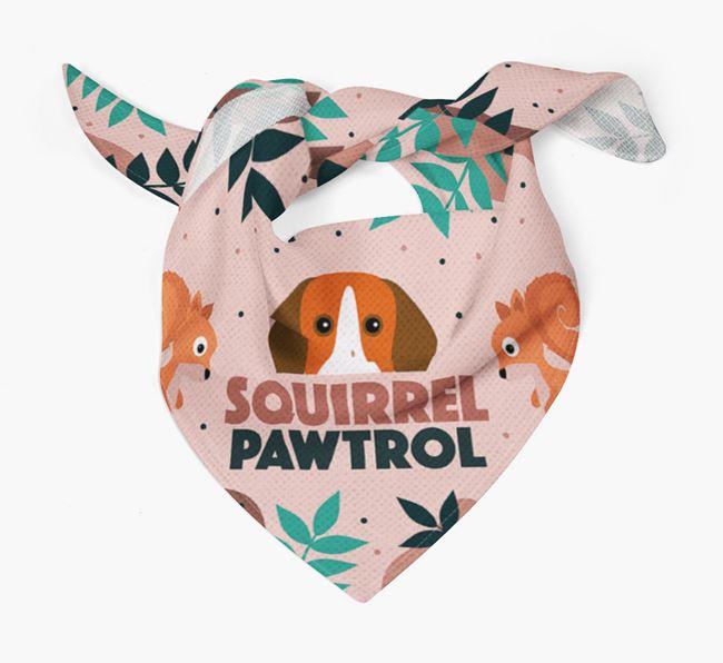 'Squirrel Pawtrol' - Personalised Pointer Bandana
