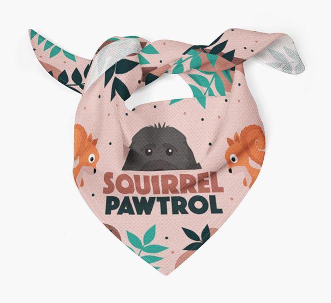 'Squirrel Pawtrol' - Personalised Rescue Dog Bandana