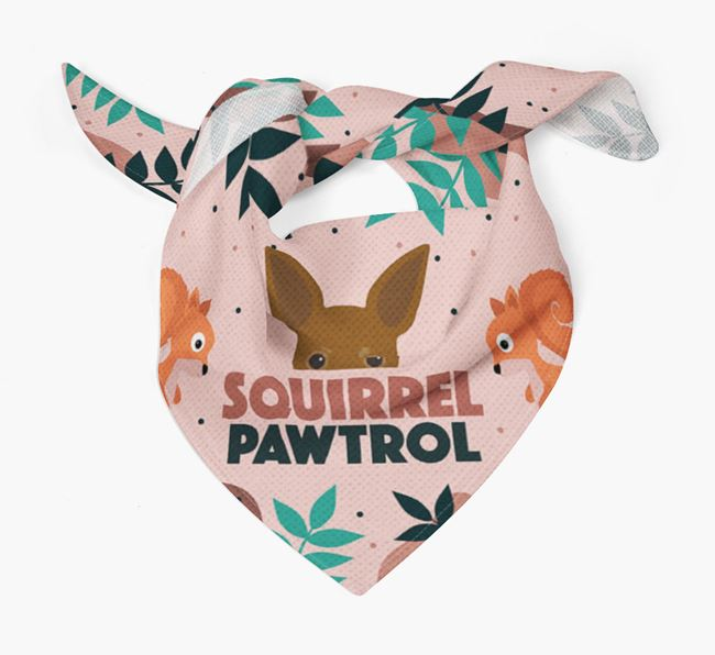 'Squirrel Pawtrol' - Personalised Russian Toy Bandana