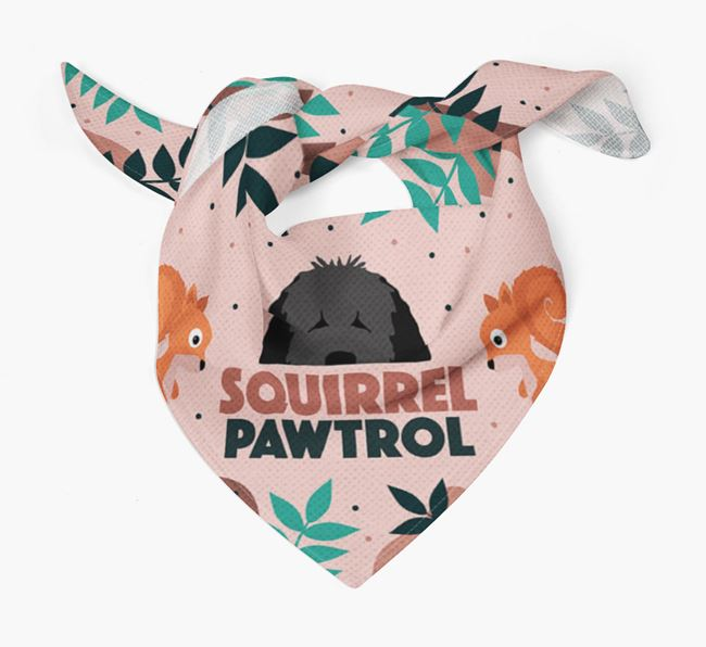 'Squirrel Pawtrol' - Personalised Dog Bandana