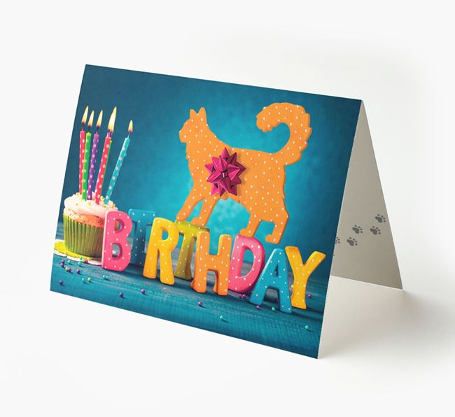 'Birthday Gifts' - Personalized Cat Card