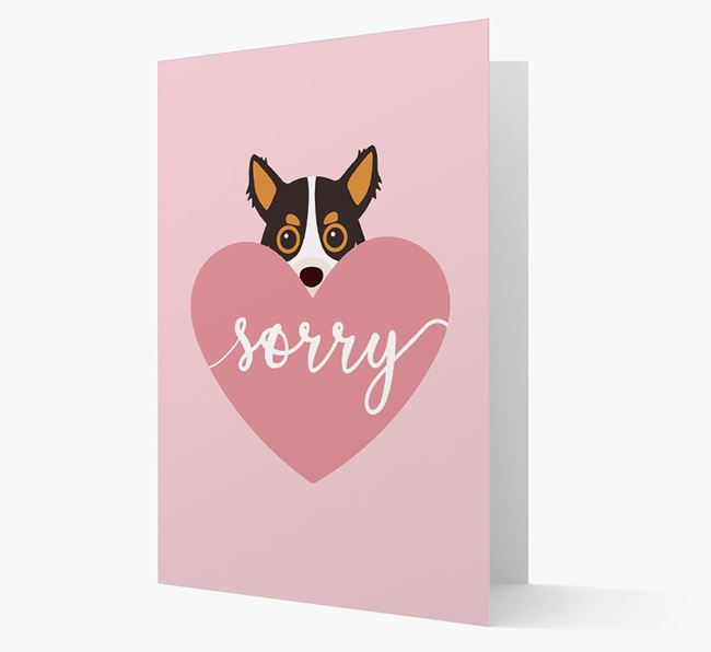 'Sorry' - Personalised Chihuahua Card