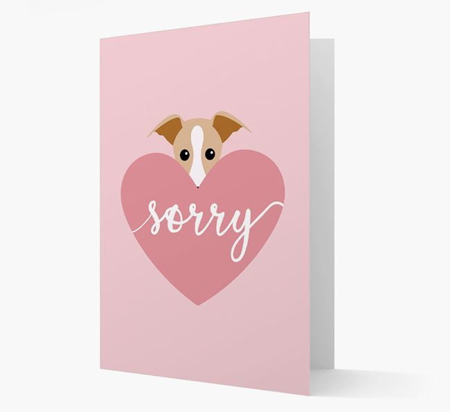 'Sorry' - Personalized Dog Card