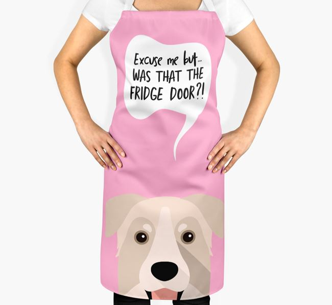 '...Was That The Fridge Door?!' - Personalized Chinook Apron