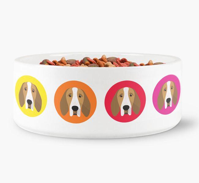 Bracco Italiano Yappicon Dog Bowl