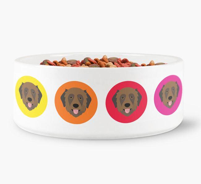 Estrela Mountain Dog Yappicon Dog Bowl