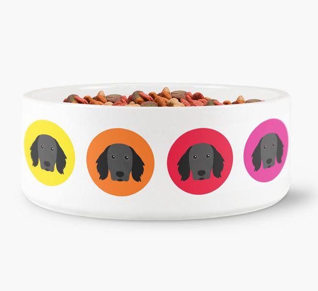 Large Munsterlander Yappicon Dog Bowl