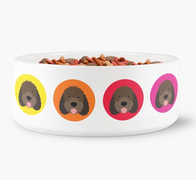 Otterhound Yappicon Dog Bowl