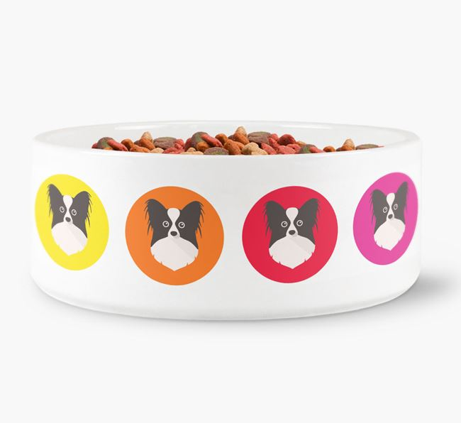 Papillon Yappicon Dog Bowl