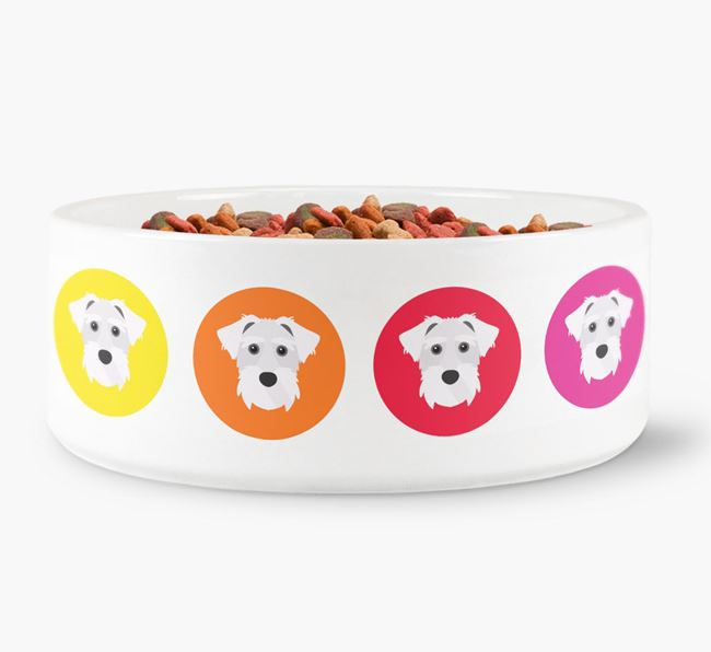 Sporting Lucas Terrier Yappicon Dog Bowl
