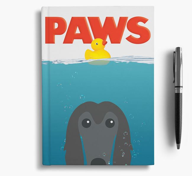 Paws - Afghan Hound Notebook/Journal