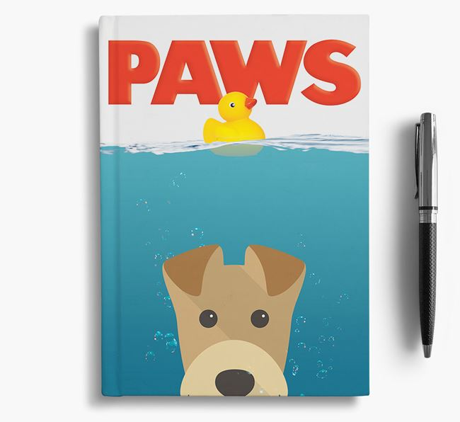 Paws - Airedale Terrier Notebook/Journal