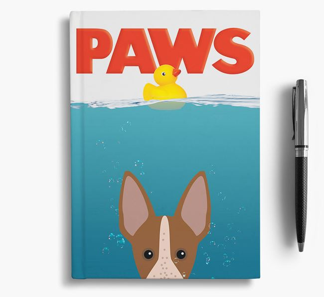 Paws - American Hairless Terrier Notebook/Journal