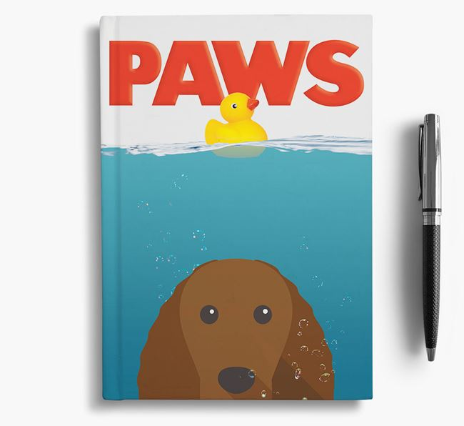 Paws - American Water Spaniel Notebook/Journal