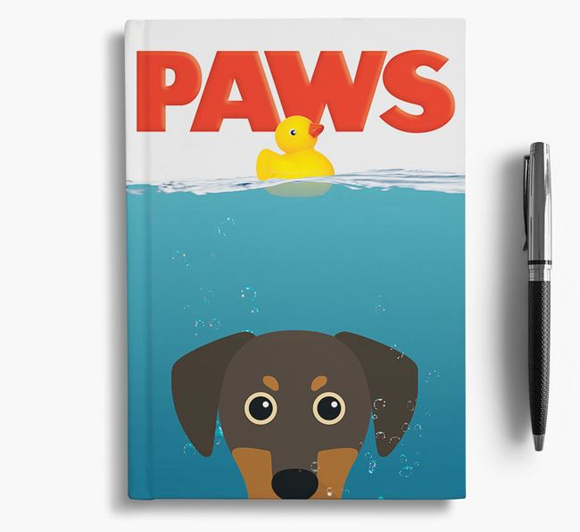 Paws - Blue Lacy Notebook/Journal