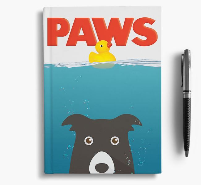 Paws - Border Collie Notebook/Journal