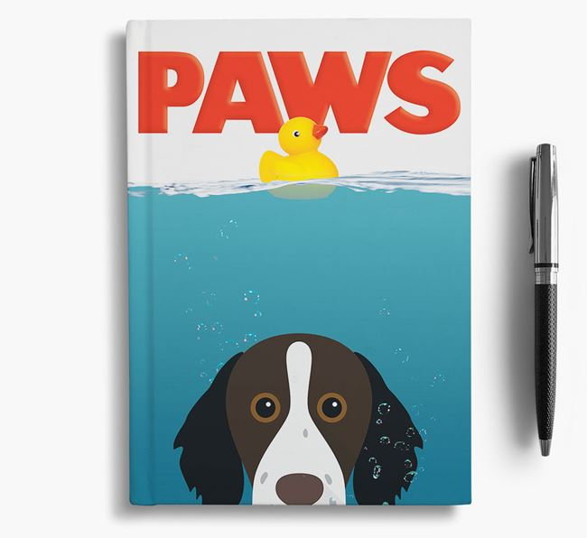 Paws - Brittany Notebook/Journal