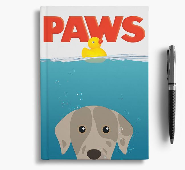 Paws - Catahoula Leopard Dog Notebook/Journal
