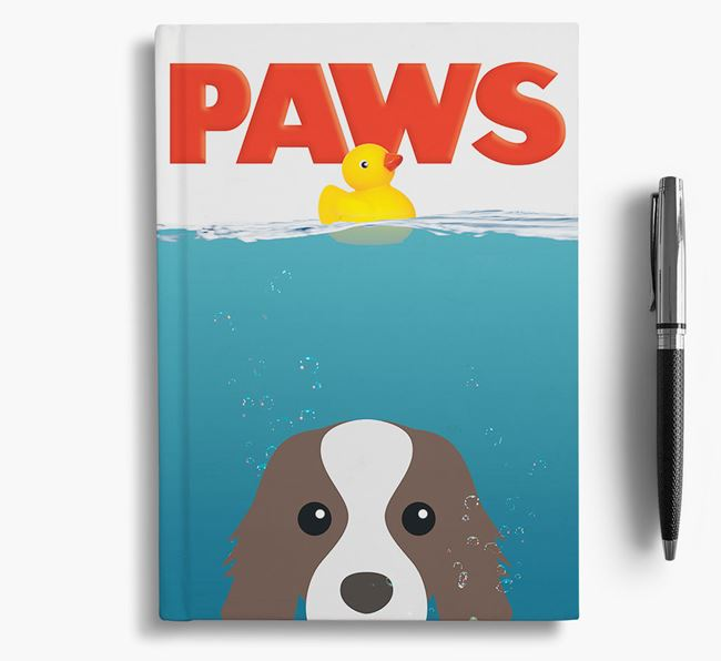 Paws - Cavalier King Charles Spaniel Notebook/Journal