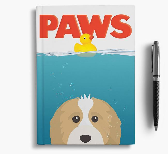 Paws - Cavapoo Notebook/Journal