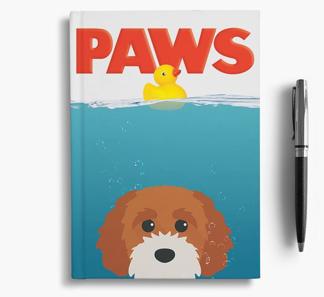 Paws - Cavapoochon Notebook/Journal