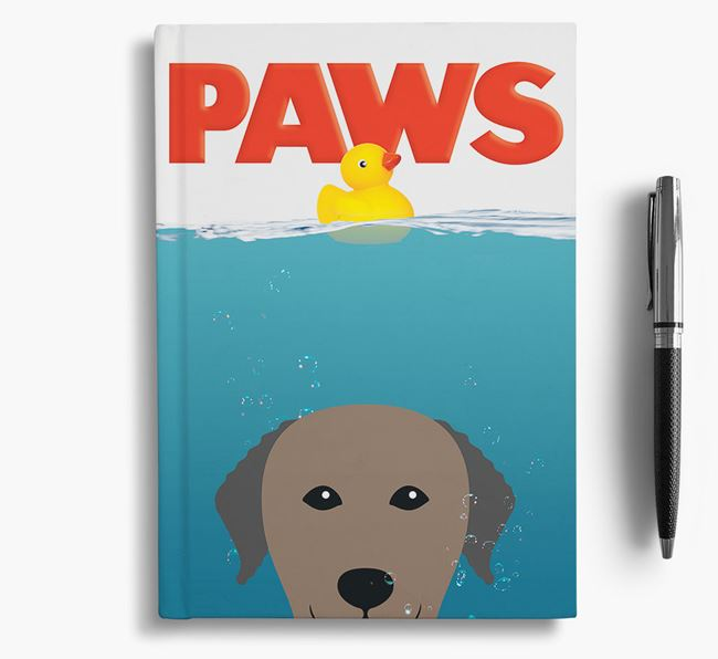 Paws - Curly Coated Retriever Notebook/Journal