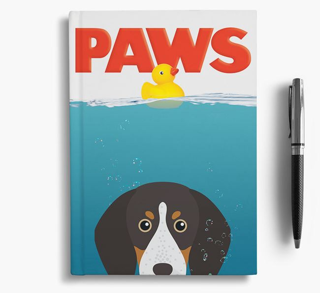 Paws - English Coonhound Notebook/Journal