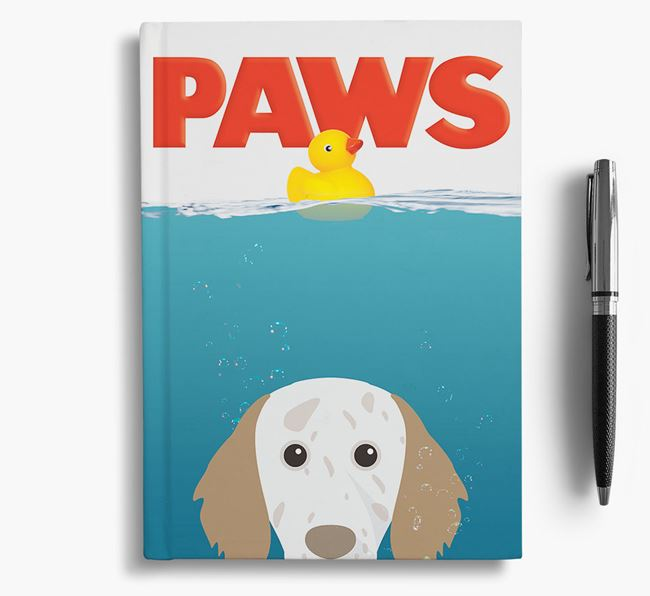 Paws - English Setter Notebook/Journal