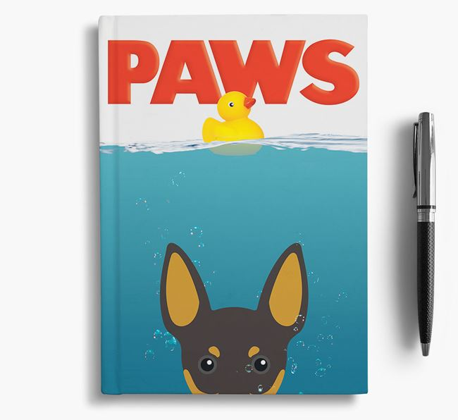 Paws - English Toy Terrier Notebook/Journal
