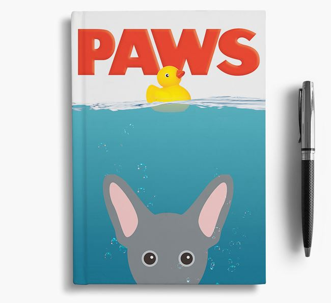 Paws - French Pin Notebook/Journal