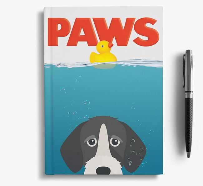 Paws - German Wirehaired Pointer Notebook/Journal