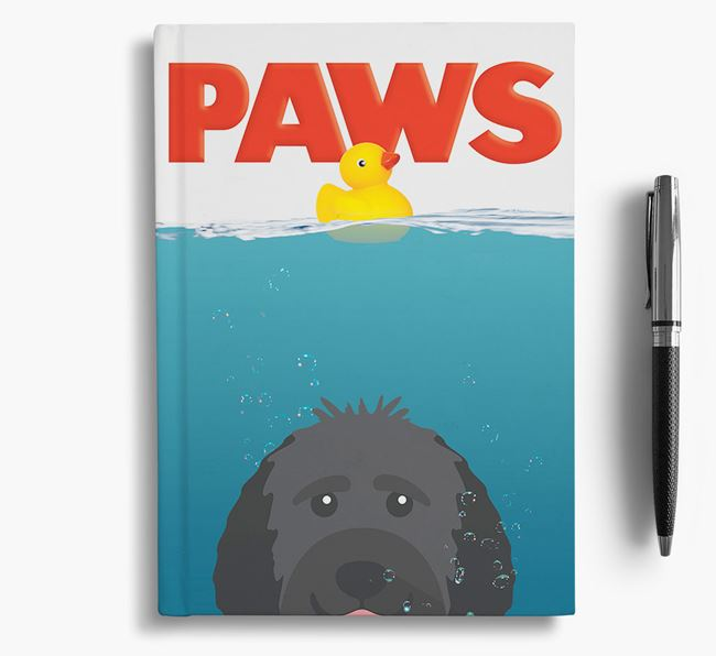 Paws - Goldendoodle Notebook/Journal
