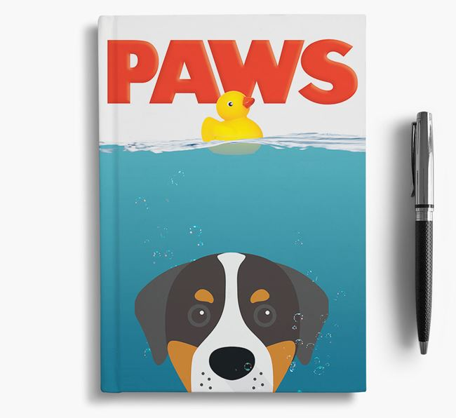 Paws - Greater Swiss Mountain Dog Notebook/Journal