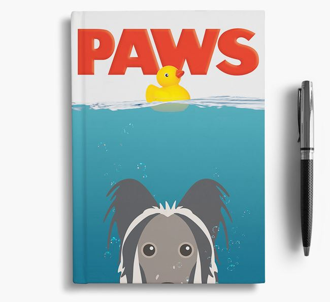 Paws - Hairless Chinese Crested Notebook/Journal