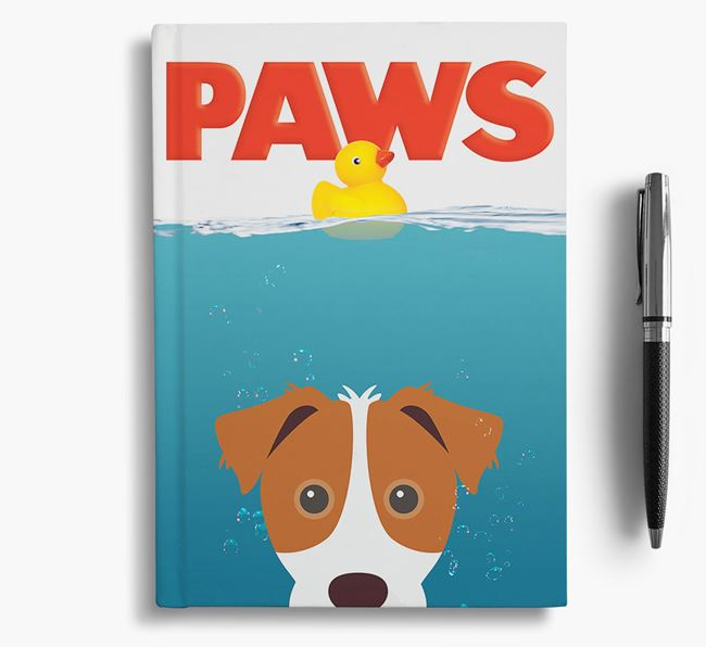 Paws - Jack Russell Terrier Notebook/Journal