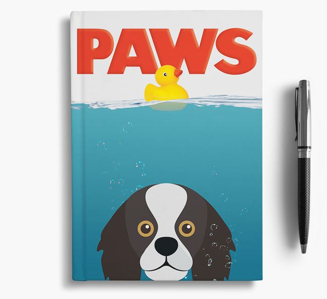 Paws - King Charles Spaniel Notebook/Journal