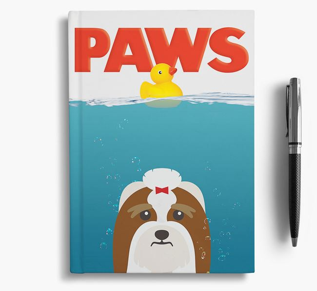 Paws - Lhasa Apso Notebook/Journal