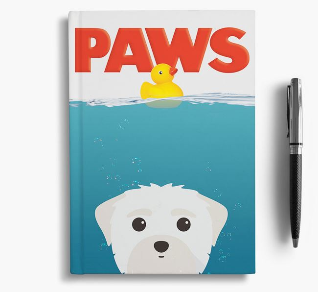 Paws - Maltese Notebook/Journal