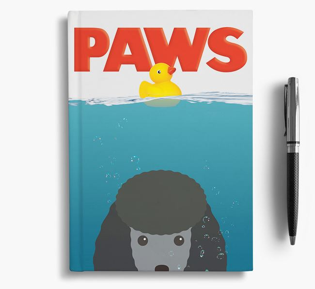 Paws - Miniature Poodle Notebook/Journal